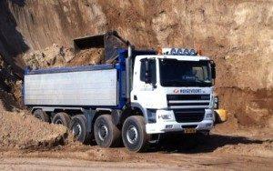 Transport grondstoffen Den Bosch